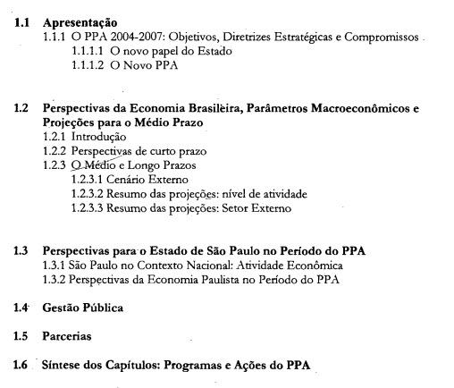 8e3f40edd1a5d O Plano Plurianual — PPA que se apresenta a seguir em obediência ao artigo  174, §1°, da Constituição do Estado, estabelece os programas do Executivo  ...